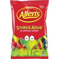 Allens Lollies 1.3kg Snakes - Packet