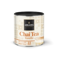 Arkadia chai tea vanilla 440g can