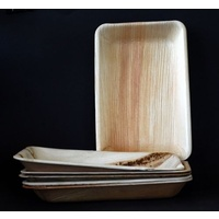 Bamboo Plate Rectangle 160x115mm - Sleeve of 25