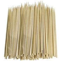 Bamboo Skewer 200mm No Flag - Sleeve of 100