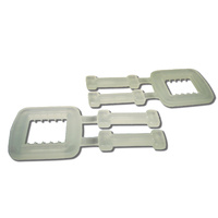 Plastic Buckles 15mm suit Polypropylene Hand Strapping - Carton of 1000