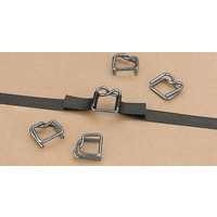 19mm Wire Buckle Suit Polypropylene Hand Strapping (Galv) - Carton of 1000