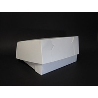 Cake Carton White 254x254x102mm - Sleeve of 100