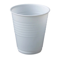 White Plastic Cup 185ml - Carton of 1000