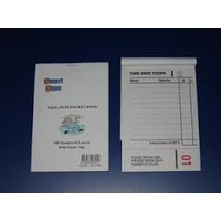 Docket Book Takeaway 100 Page - 'Smart Save' - Each