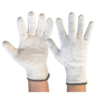 Gloves Poly Cotton Pkt 240 - Carton of 240
