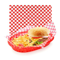 Grease Proof Paper Printed Check - Ream