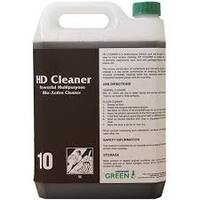 HD Cleaner - Powerful Multipurpose Bio-Active Cleaner - 5lt Bottle