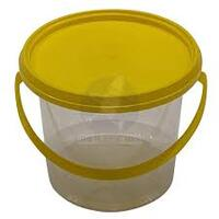 1.2lt Honey Tub Lid, Yellow - Each