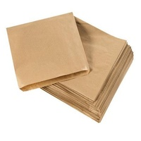 Paper Bags Brown No 4 - 340x240mm - Sleeve of 500