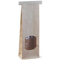 "Paper Bag Small Tin Tie ""I Am Eco"" - Carton of 500"