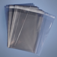 Poly Prop Peel & Seal Flat Bag 330x230mm - Carton of 1000