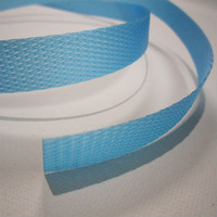 Polypropylene Hand Strapping, Blue 12mm x 0.6mm x 1000m 80Kg B/S - Roll