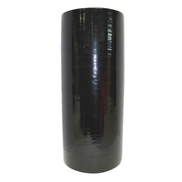 Pallet Stretch Wrap 20um Blown- Black Machine Roll - Roll