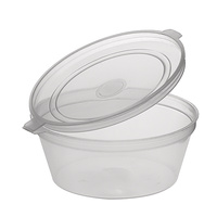 Round Sauce Container with Lid 70ml - Sleeve of 50