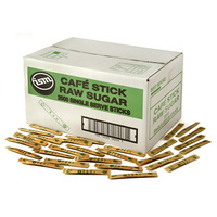 Raw Sugar Stick 3g Serve - Carton of 2000