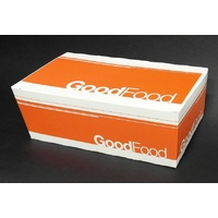 "Snack Box Medium ""Good Food"" 172x103x70mm - Sleeve of 50"