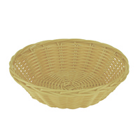 Bread Basket Round Bamboo - Each