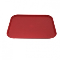 Fastfood Tray 35x45cm Red - Each