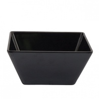 Square Bowl 180x85 Black - Each