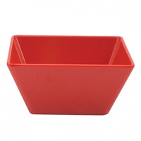 Square Bowl 180x85 Red - Each