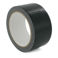 Cloth Tape 48mm x 25m Black - Roll