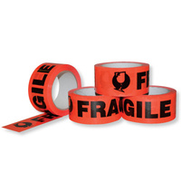 Fragile Tape 48mm x 66m Orange - Roll