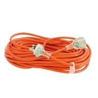 15m Extension Lead (orange) 10amp - Each