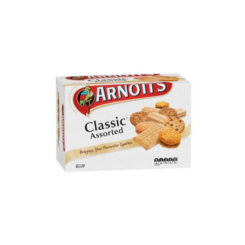 Arnotts Classic Assorted Biscuits 1.5KG - Each