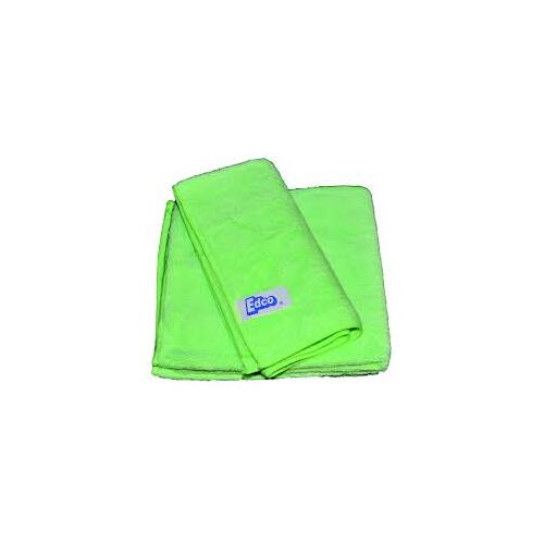 Edco Merrifibre Green Microfibre 400x400mm - Packet of 3