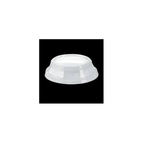 BioPak Dome Lid No Hole Suit 300-700ml - Sleeve of 50