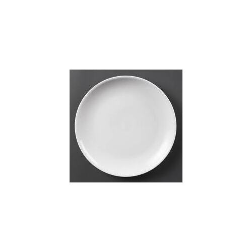 Olympia Whiteware Coupe Plates 280mm - Box of 6