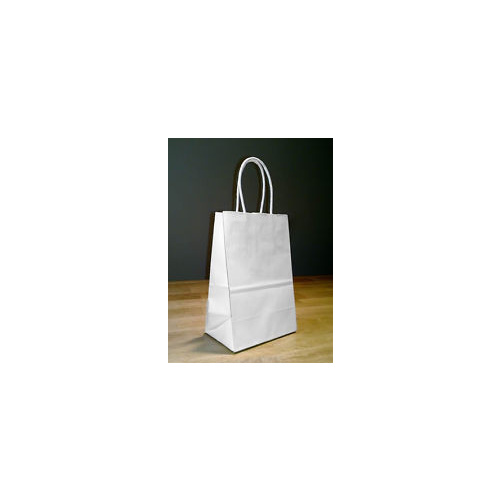 Paper Carry Bag White Midi 420x310+110 - Sleeve of 50