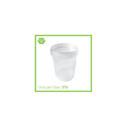Chanrol Tamper Evident Container - 520ml - Carton of 600