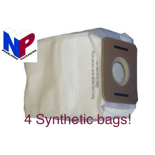 4x Synthetic bags suit Cleanstar VBP1400 and Pullman BP1, JYBP backpacks