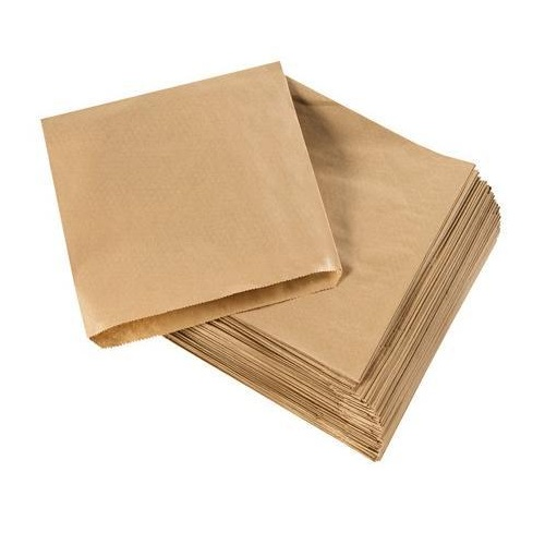 Paper Bags Brown No 6 - 365x310mm - Sleeve of 250
