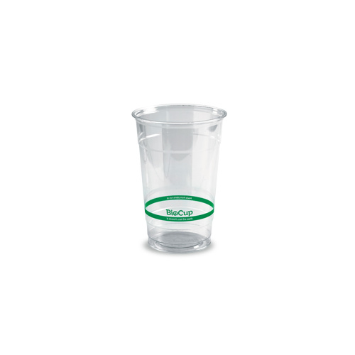 Biopak 600ml Clear Cup - Sleeve of 50