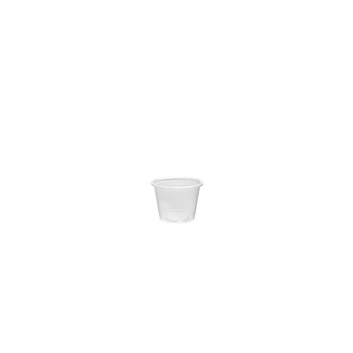 Dart Plastic Portion Cup 1oz (P100) - Sleeve of 125
